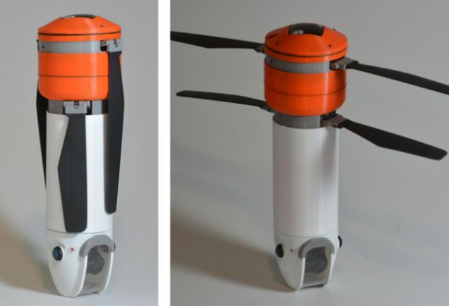 Photo of This Sturdy Drone Takes Aerial Shots of Your Outdoor Conquests