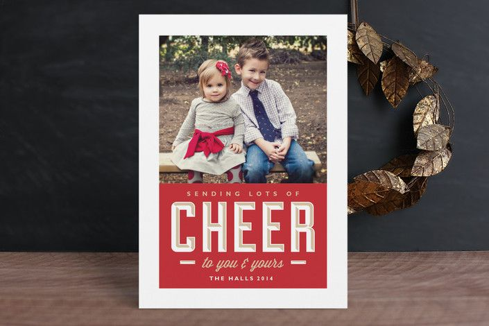 Sending Cheer by b.wise papers at minted.com