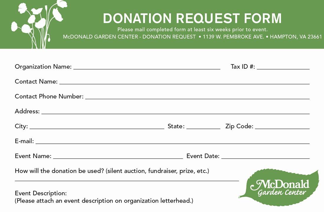 Image Result For Sample Pledge Cards Nonprofit Donation