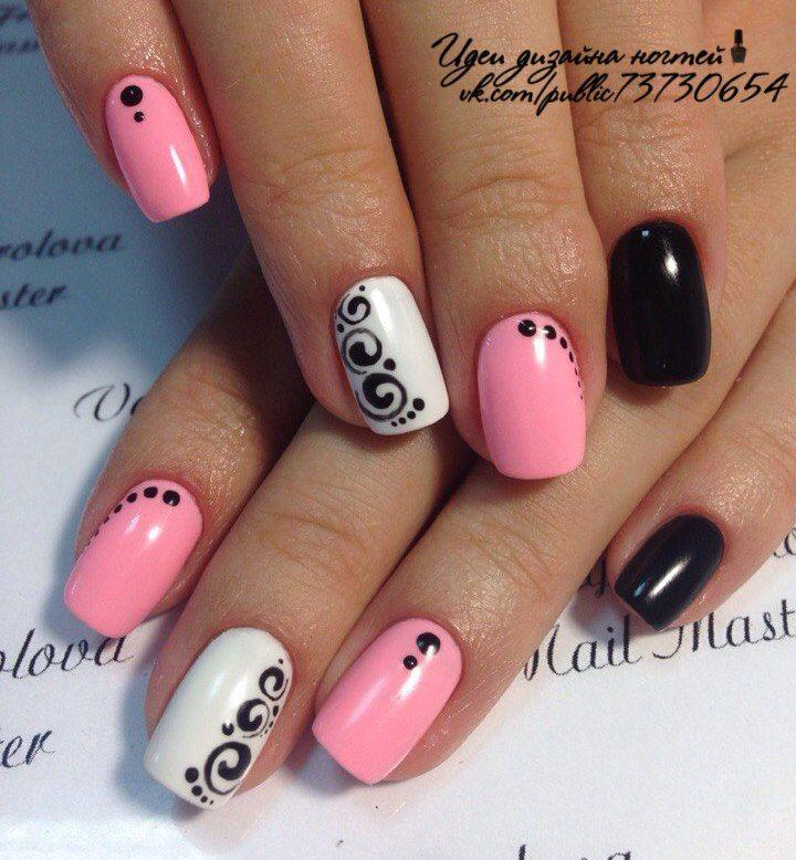 Новости   Fingernails   Pinterest   Diseños de uñas, Uñas fáciles y ...
