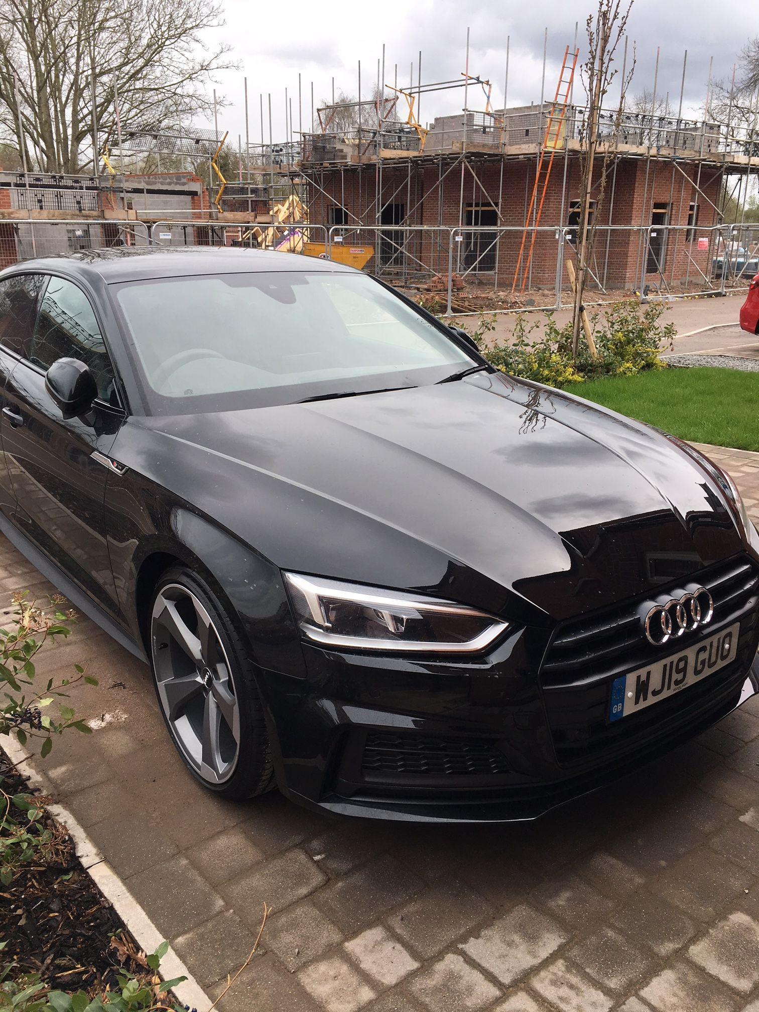 Audi A5 | Audi a5, Audi a5 sportback, A5 sportback | Audi A5 Sportback Black Edition |  | Pinterest