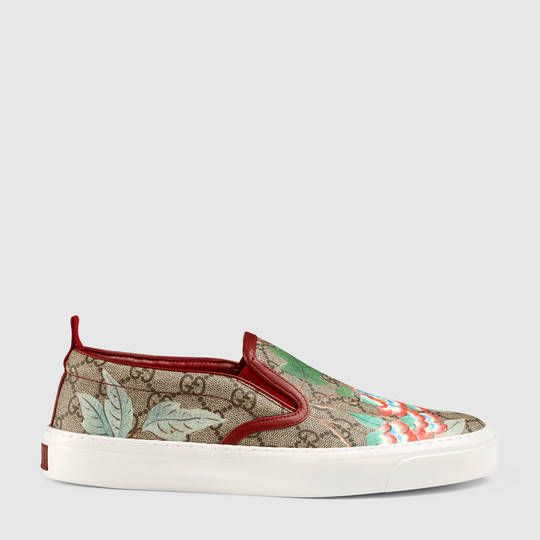 Gucci Women s Gucci Tian slip-on sneaker  32ddbeec4
