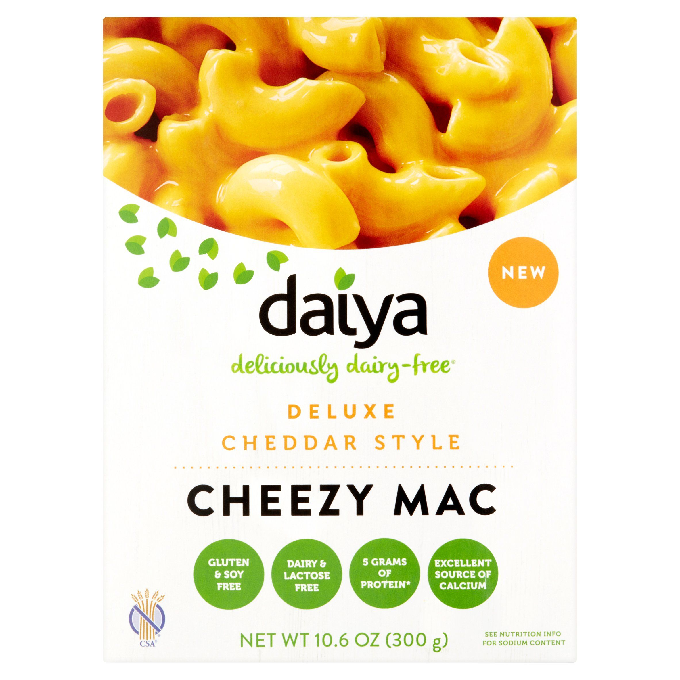 Daiya Foods Cheezy Mac Deluxe Cheddar Style 10 6 Oz Walmart Com In 2020 Dairy Free Dairy Free Mac And Cheese Food Inc