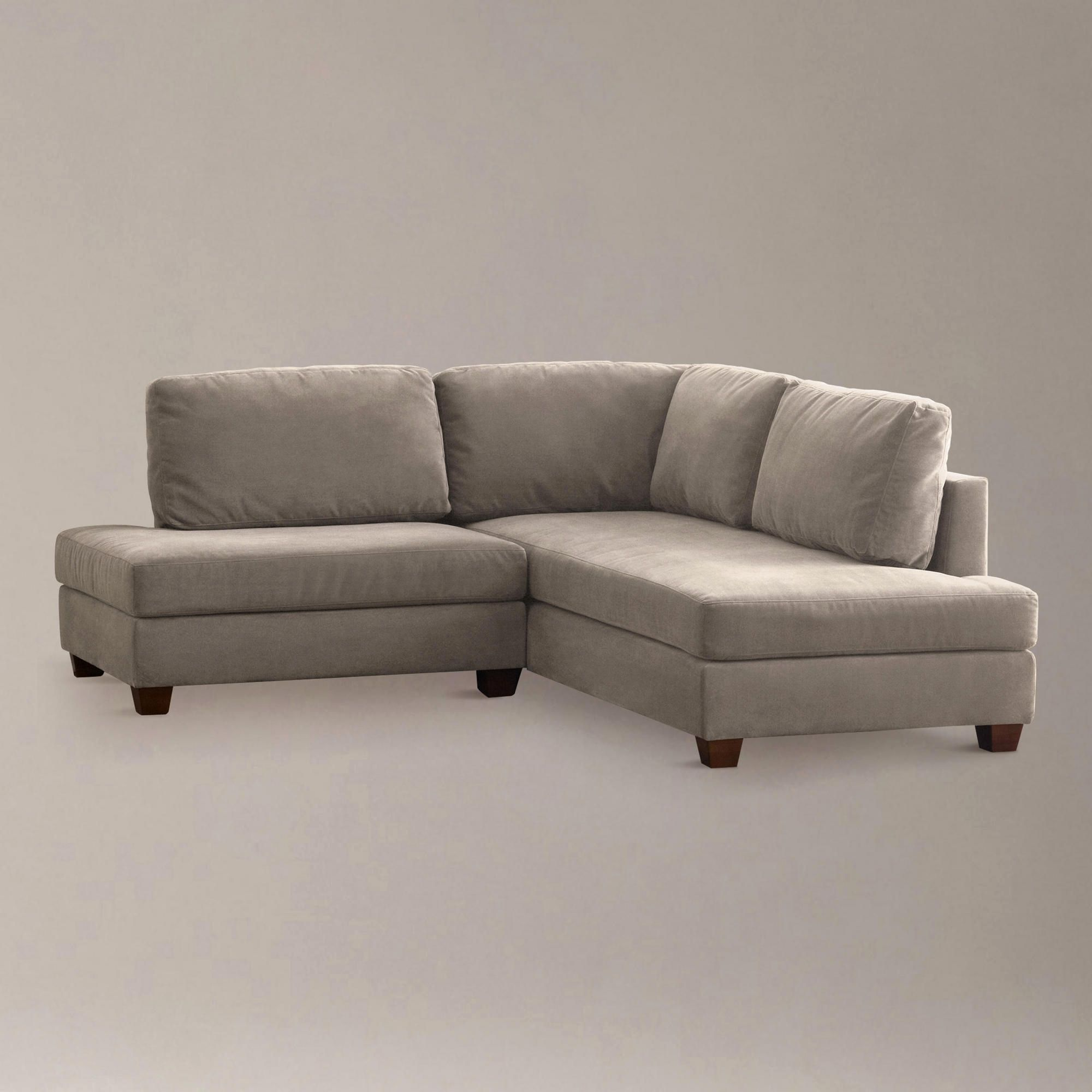 small space sofa with chaise