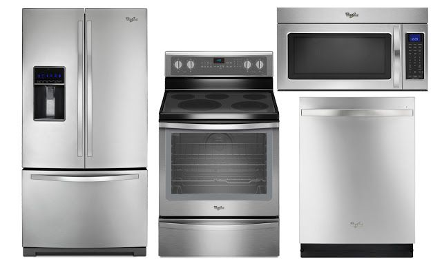 Stainless Steel Appliance Package by Whirlpool & Appliance Direct ...