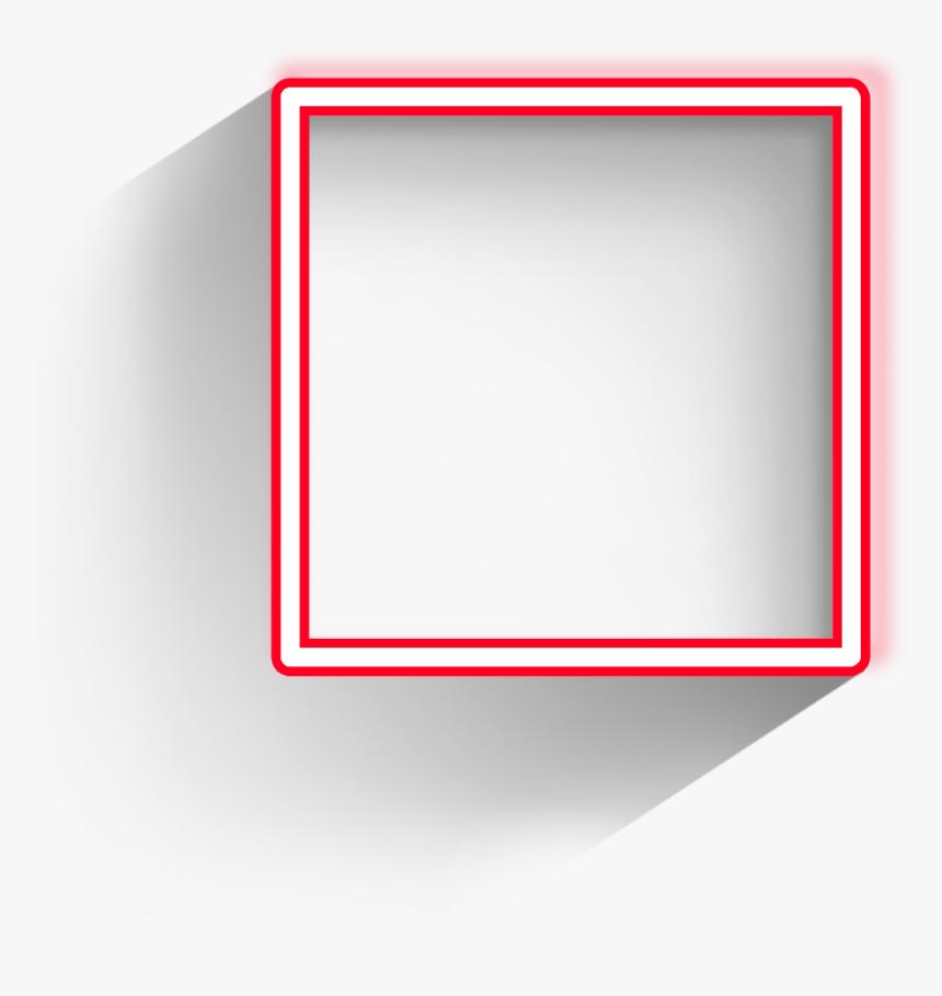 Square Freetoedit Frame Red Border Geometric Pink Square Frame Transparent Hd Png Download Is Free Transparent Png Image Frame Square Frames Red Frame