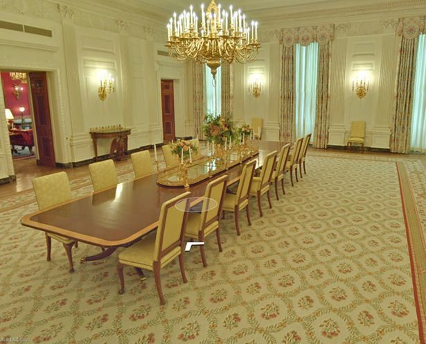 The Peoples House Obamas Welcome Google And Worlds Web Users To Glimpse Inside White