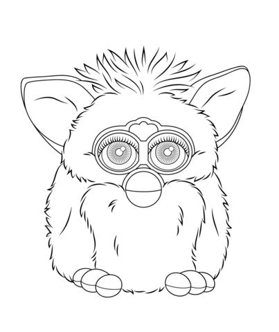 Gratis Kleurplaten Furby.Furby Coloring Coloring Pages Coloring Pages Color Printable