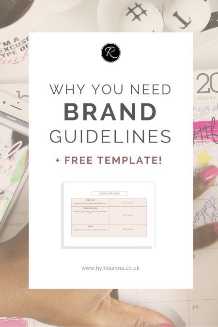 why you need brand guidelines free brand guidelines document template