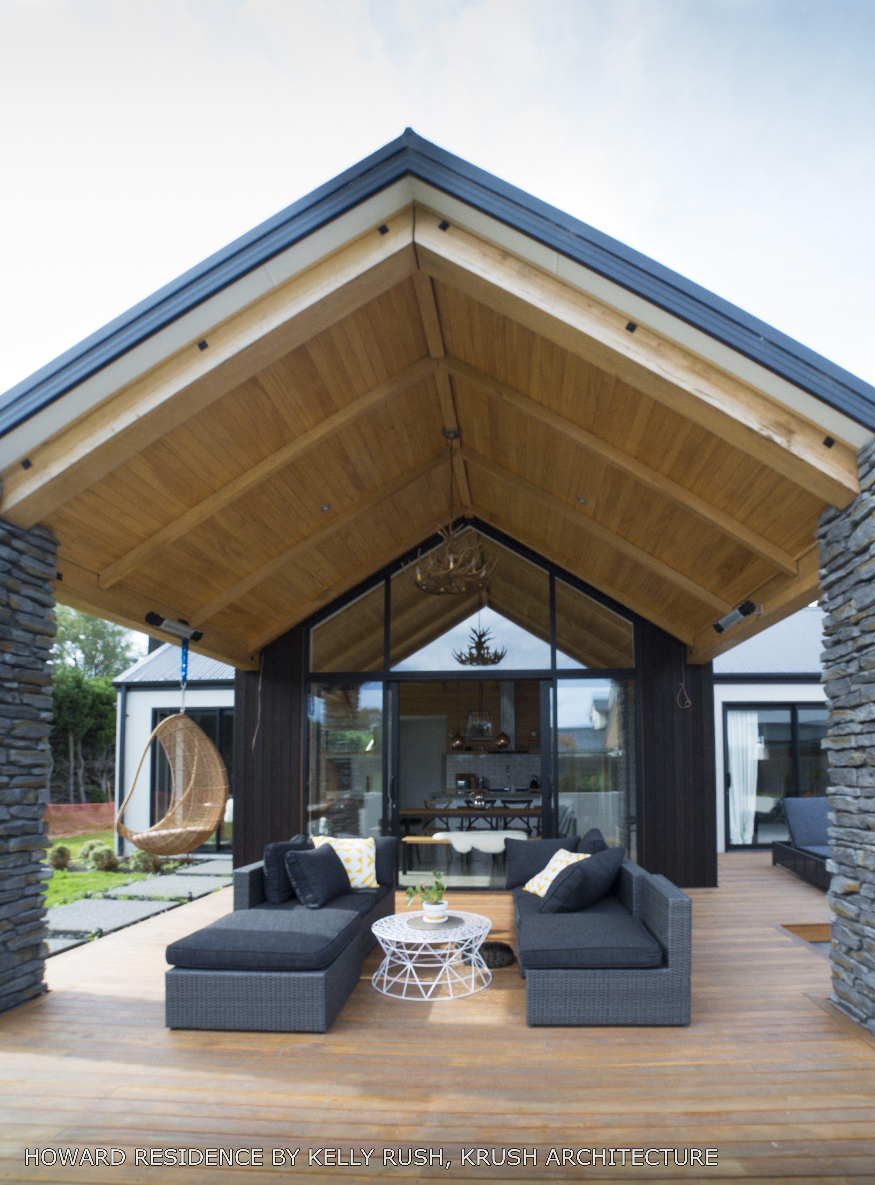 Fantastic Outdoor Living Area Designed