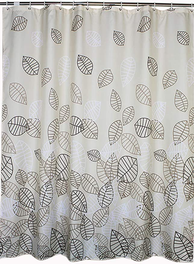 welwo extra wide shower curtain liner