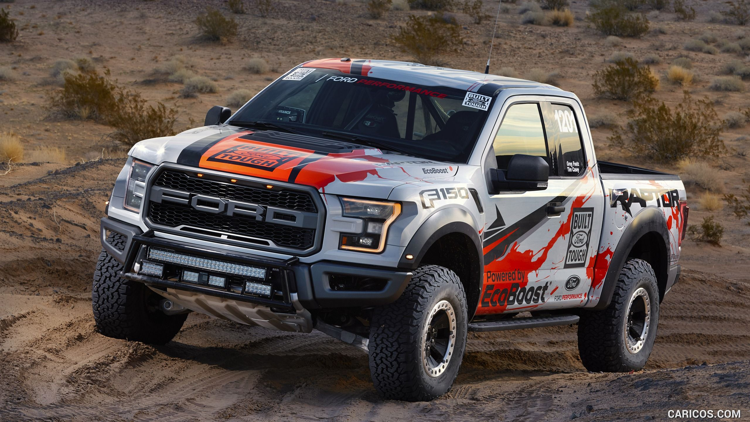 2017 Ford F 150 Raptor Race Truck Wallpaper Ford Raptor Ford