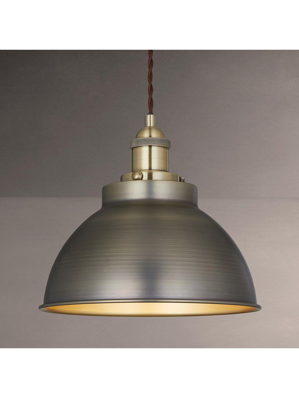 John Lewis Partners Baldwin Pendant Ceiling Light Gloss