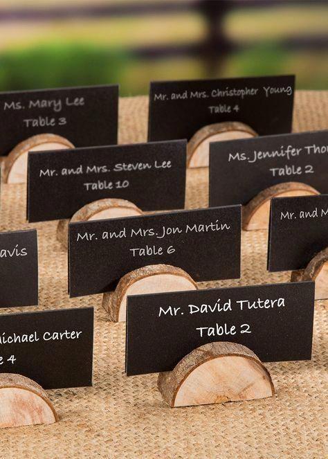 """Photo of Set di 24 porta carte in legno naturale – 1 """"alto – # porta carte # legno naturale – # …"""