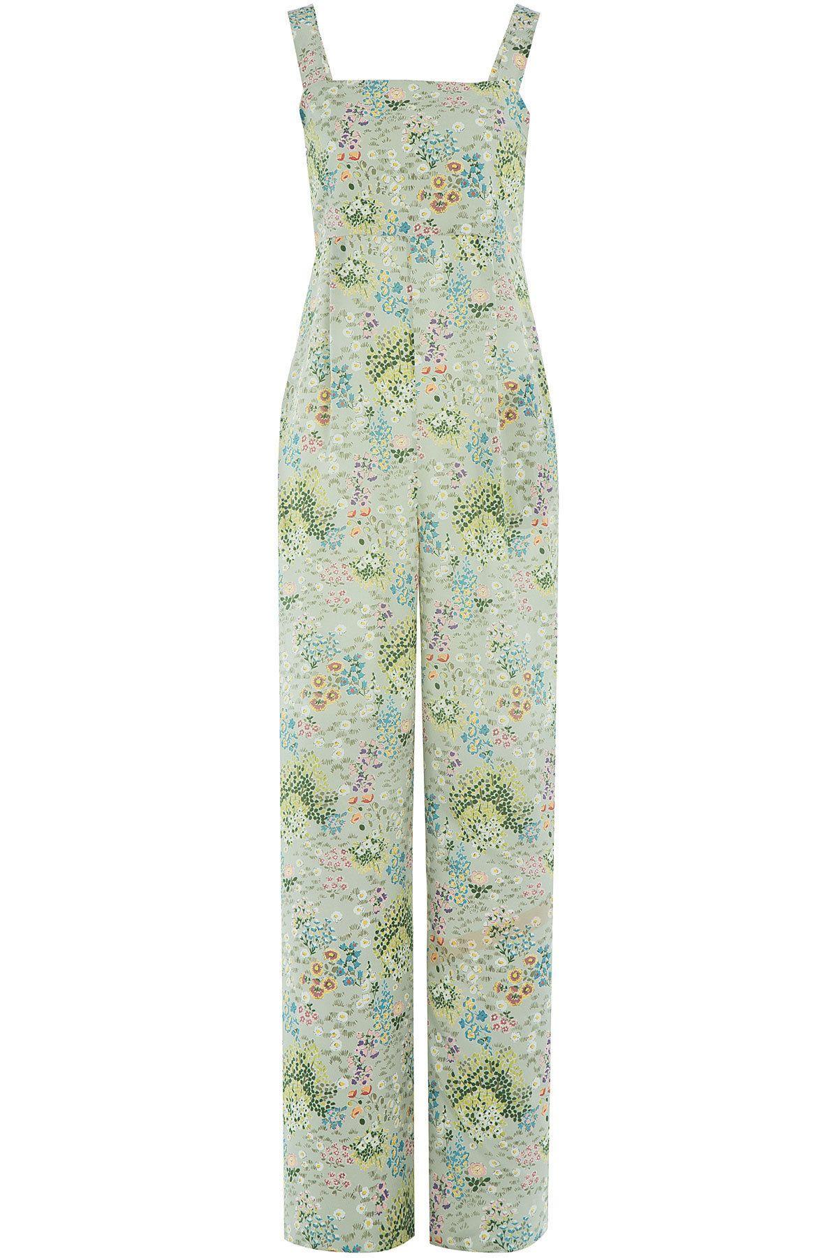 44118e7d3b Valentino - Printed Silk Jumpsuit Silk Jumpsuit