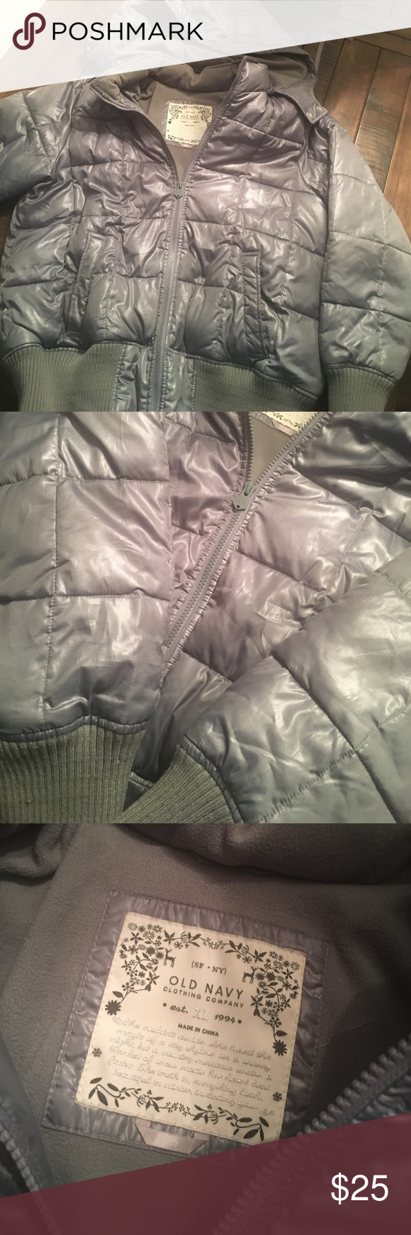 Old Navy WARM Puffy Jacket This is a fantastic jacket from Old Navy! I've only worn it for a handful of times. Old Navy Jackets & Coats Puffers