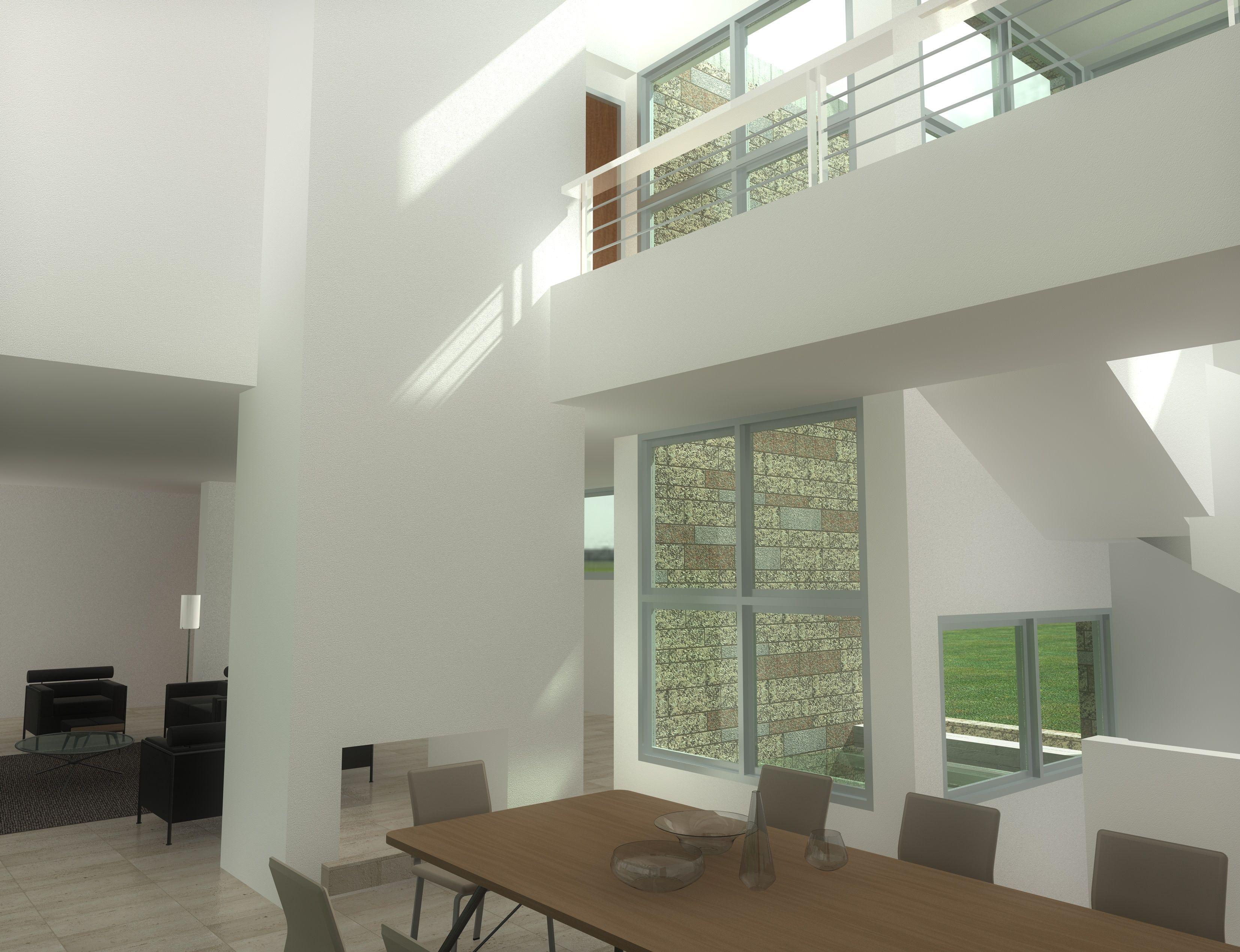 Los materiales utilizados en las superficies interiores se han elegido en función de su capacidad para contribuir al buen clima interior y la calidad del aire, así como por sus cualidades estéticas.