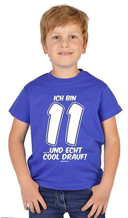 Kinder Geburtstag Für Jungs Zum 11. Geburtstag Kinder T Shirt Ich Bin 11 .