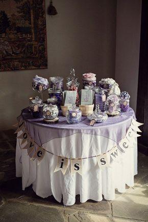 wedding candy bars display | pretty display. | Wedding - Candy Bar