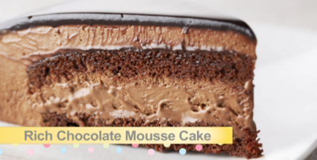 Rich chocolate mousse cake asian food channel chocolate frenzy get this quick and easy rich chocolate mousse cake recipe from bake with anna olson forumfinder Gallery