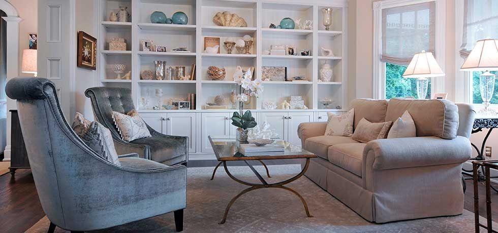 Ashbourne Long Island Interior Design Construction Renovation Livable Luxury Shelves