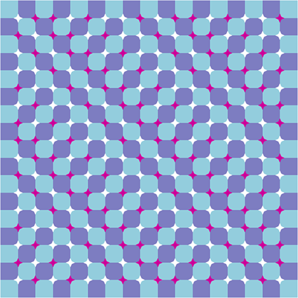 Wavy Field Just Won T Stop Moving Optical Illusions Illusions