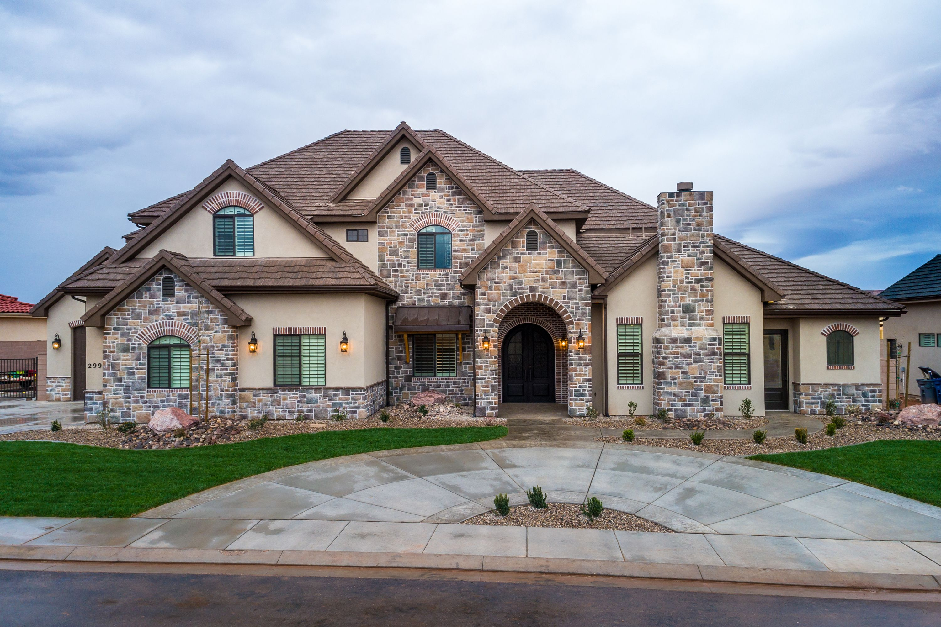 Luxury custom home in The Arbors by S&S Homes, St