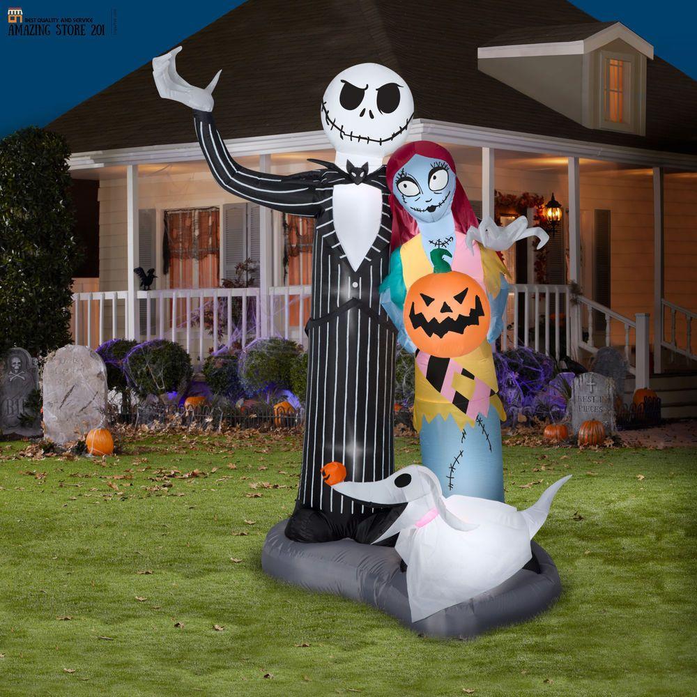 Halloween Airblown Inflatable Nightmare Before Christma