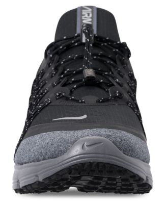b7587ea39458 Nike Men s Air Max Sequent 4 Shield Running Sneakers from Finish Line -  Black 8.5