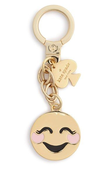 kate spade new york 'blushing emoji' bag charm available at #Nordstrom