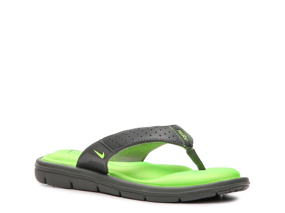 cc0bb3ae8057 Nike Comfort Flip Flop...love the neon green
