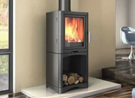 Broseley Evo5 Logstore Wood Stoves For Sale Contemporary Wood Burning Stoves Stoves For Sale