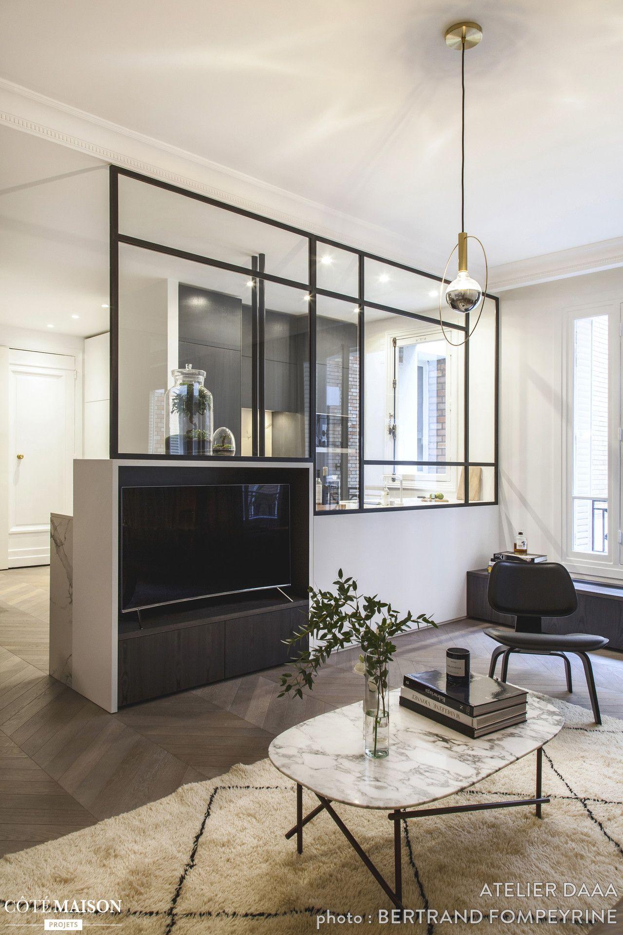 Appartement de 65m2 paris paris atelier daaa - Architecte interieur paris petite surface ...