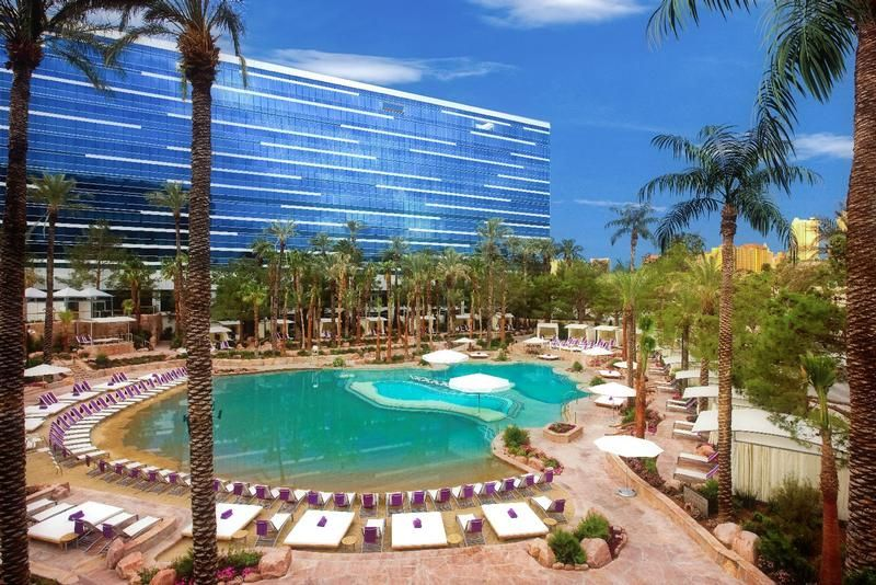 The Pool At Hard Rock Hotel Looks Tempting Vegas