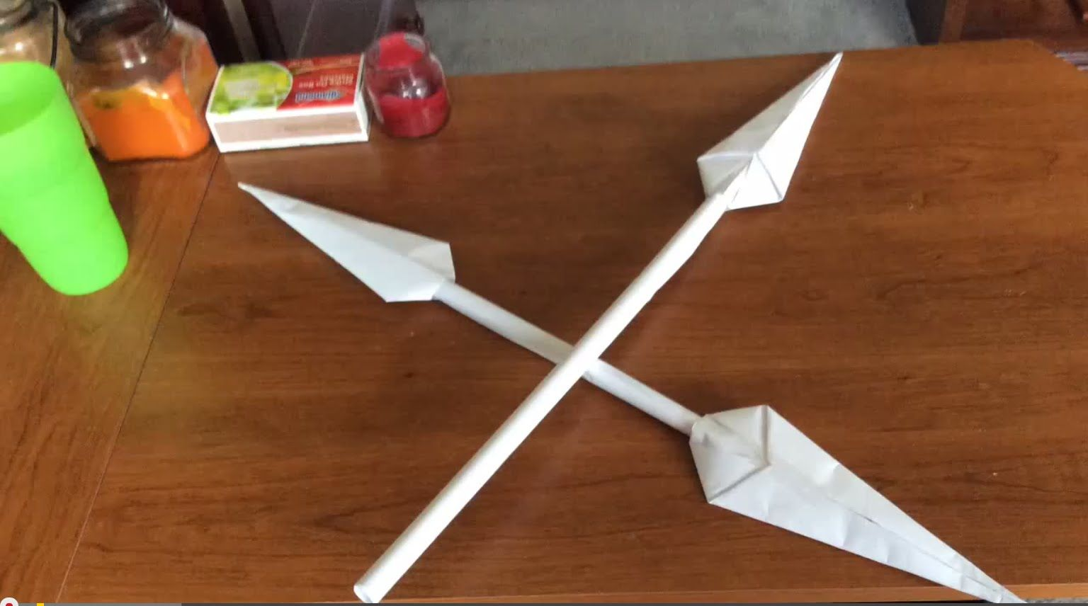 Hard Origami Sword Foldupsword Diagram How To Make A Cool Paper Spear School Home Pinterest 1536x856