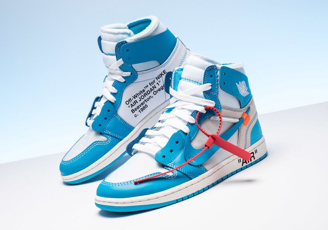 Raffle List For The Off White X Air Jordan 1 Unc Off White Shoes
