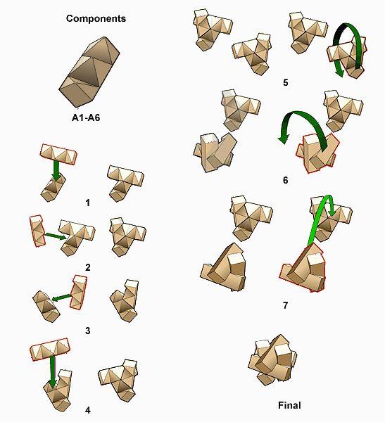 molecule puzzle solution | Wooden puzzles, Puzzle, Brain