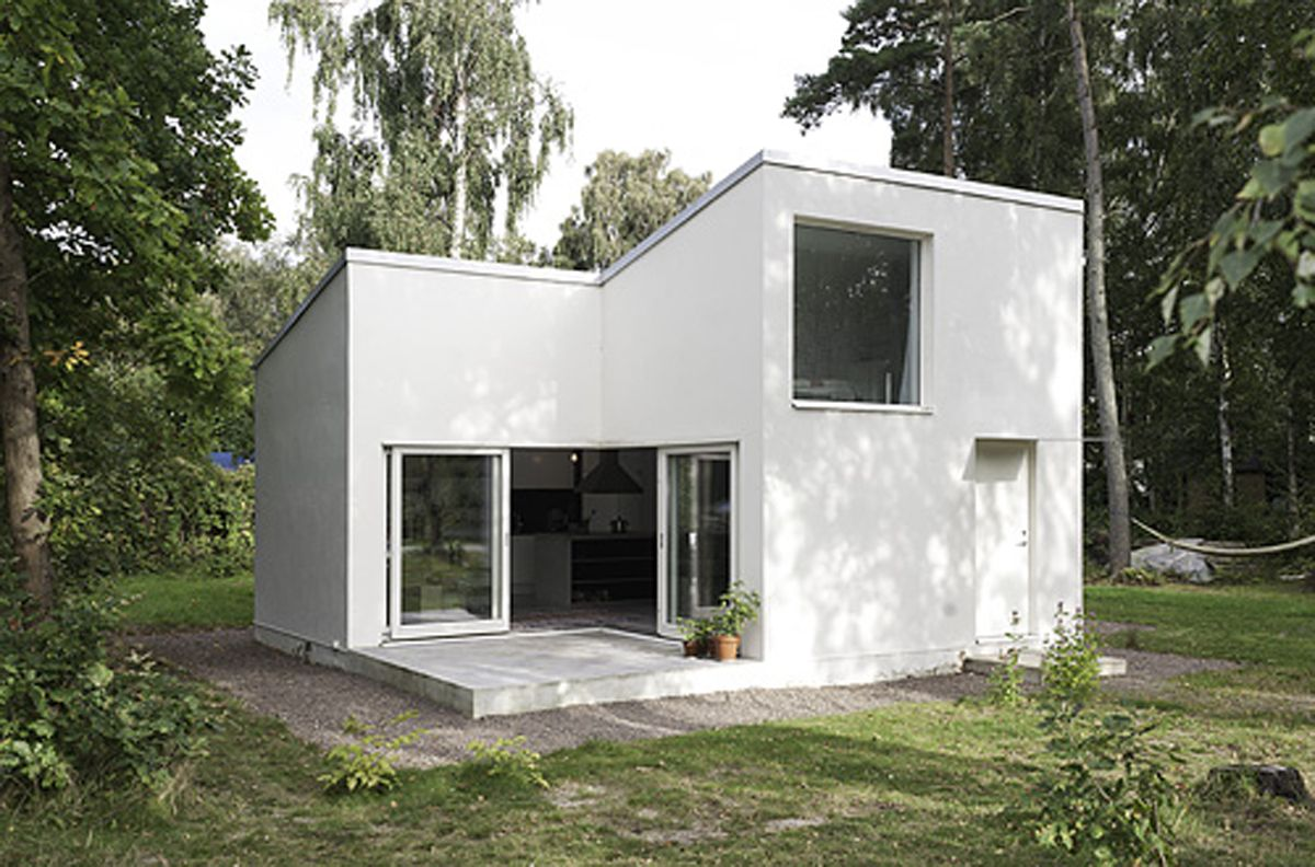 tiny houses | white small house design Dinell Johansson - Interior ...