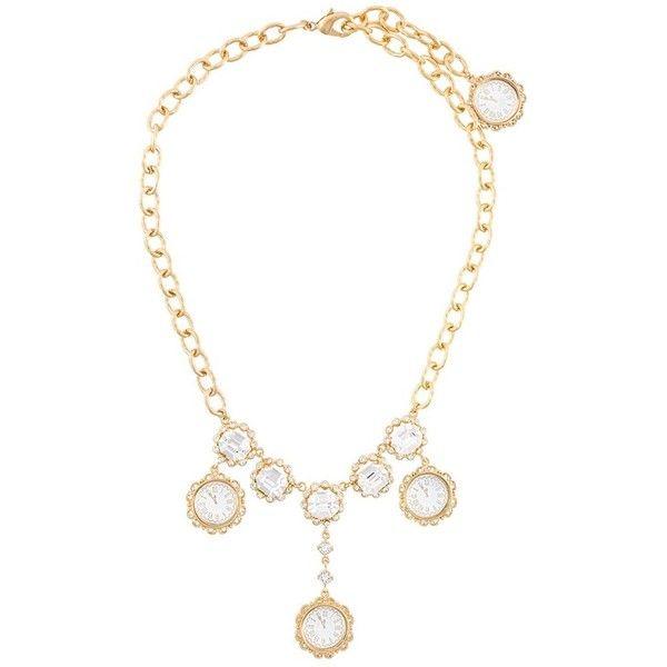 Dolce & Gabbana clock pendant necklace kuVbmD