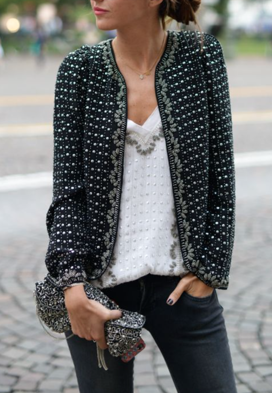 style details.... love the jacket!