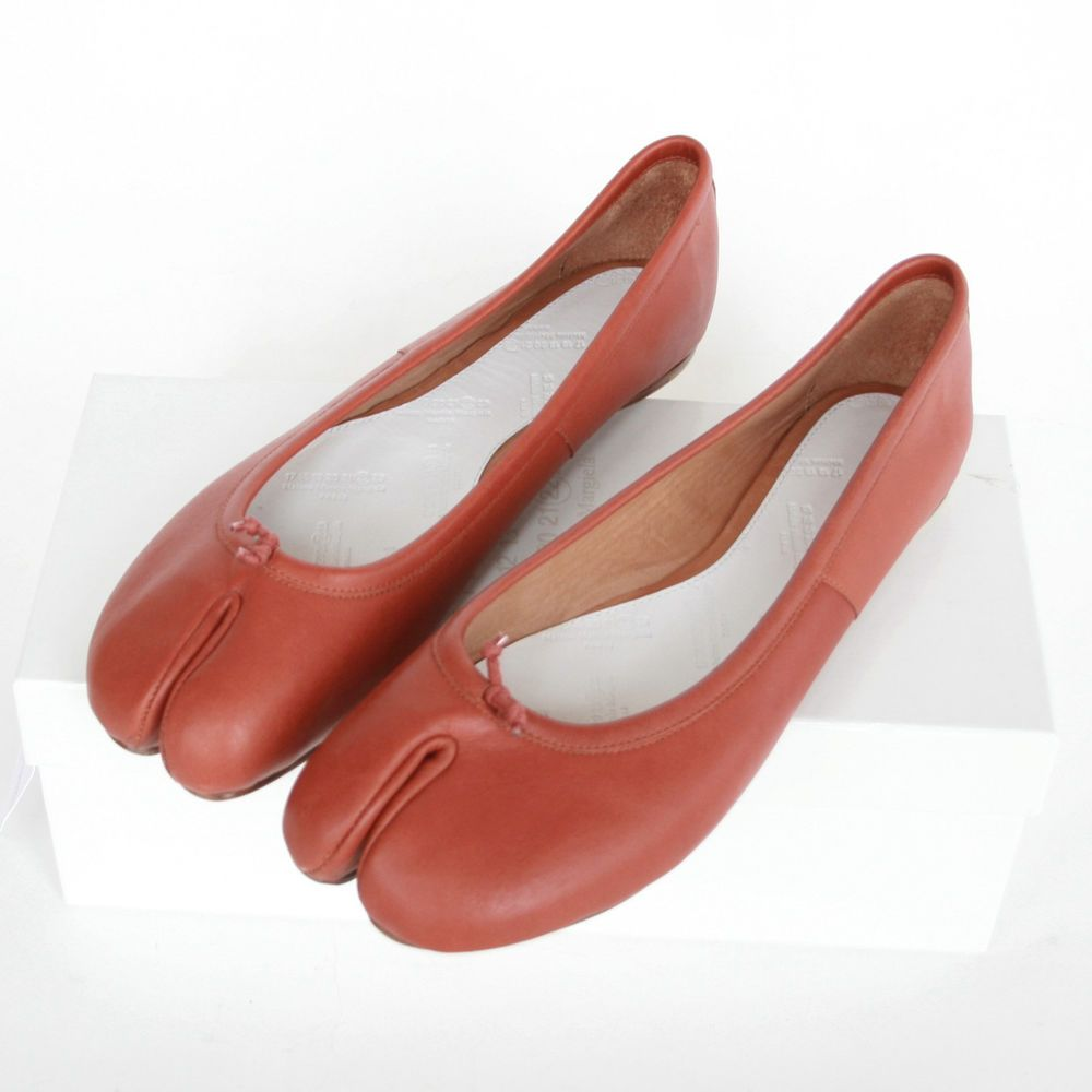Maison Martin Margiela Leather Ballet Flats muHtLyF88