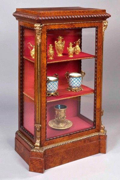 An Antique Vitrine or Display Cabinet - An Antique Vitrine Or Display Cabinet Vitrines,bookcases