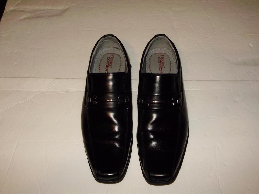 4689e4e2ba15 Dexter-Comfort Men Size 8.5 Shoes Crosby Bit Loafers Shoes Black Memory  Foam  DexterComfort  LoafersSlipOns