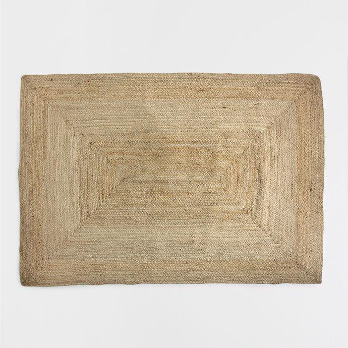 natural jute rug rugs bedroom zara home canada dream house pinterest rund ums haus. Black Bedroom Furniture Sets. Home Design Ideas