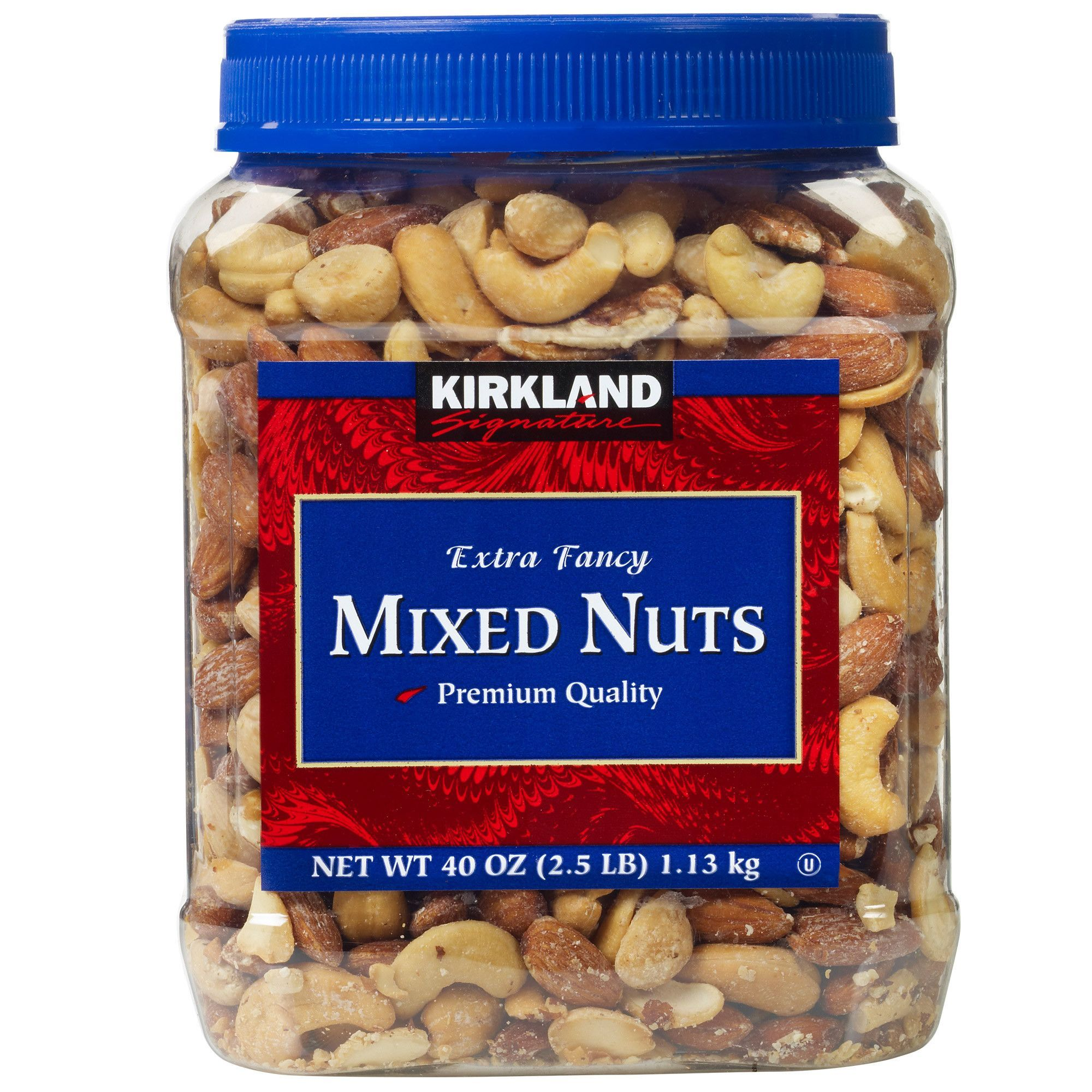 Kirkland signature mixed nuts 25 lbs 2count mixed nuts