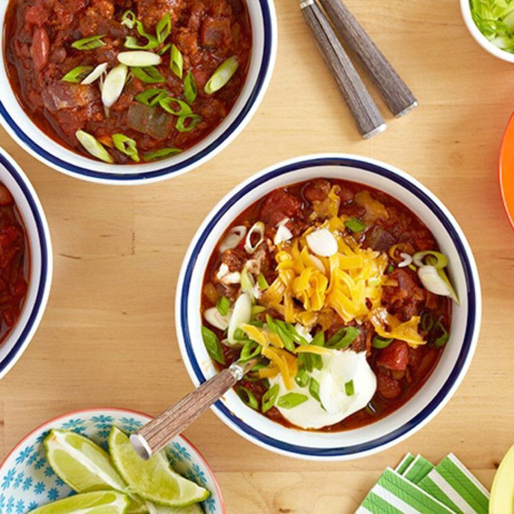 Pat S Famous Beef And Pork Chili Recipe Beef And Pork Chili Recipe Pork Chili Food Network Recipes