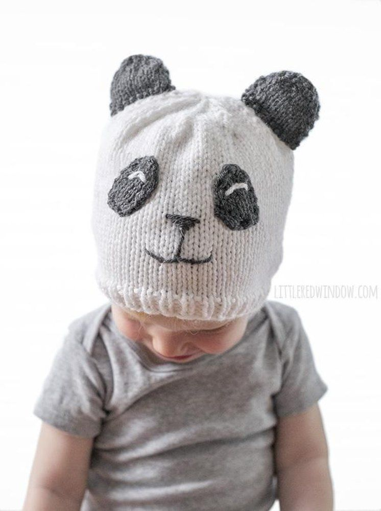 Sweet Panda Hat | Knitting for Christmas | Pinterest