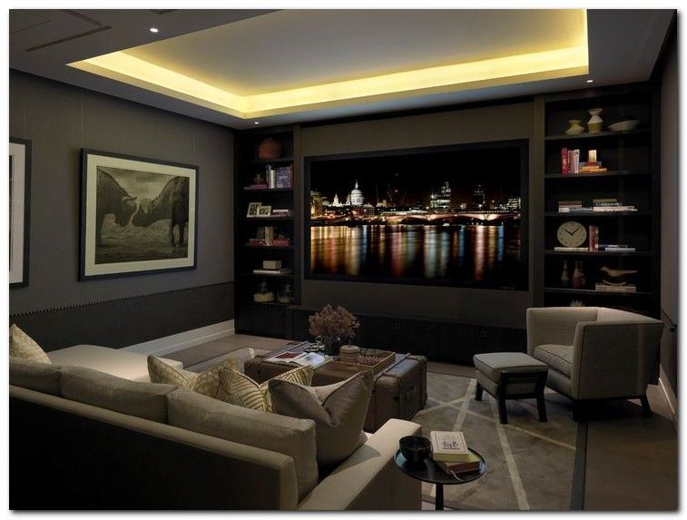 50 Tiny Movie Room Decor Ideas Home Theater Accessories