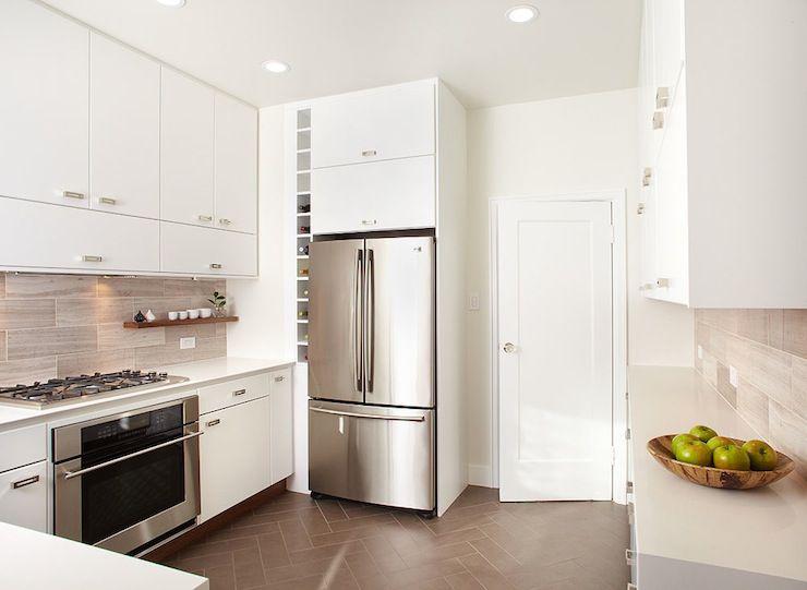 w david seidel kitchens vertical wine rack builtin wine rack