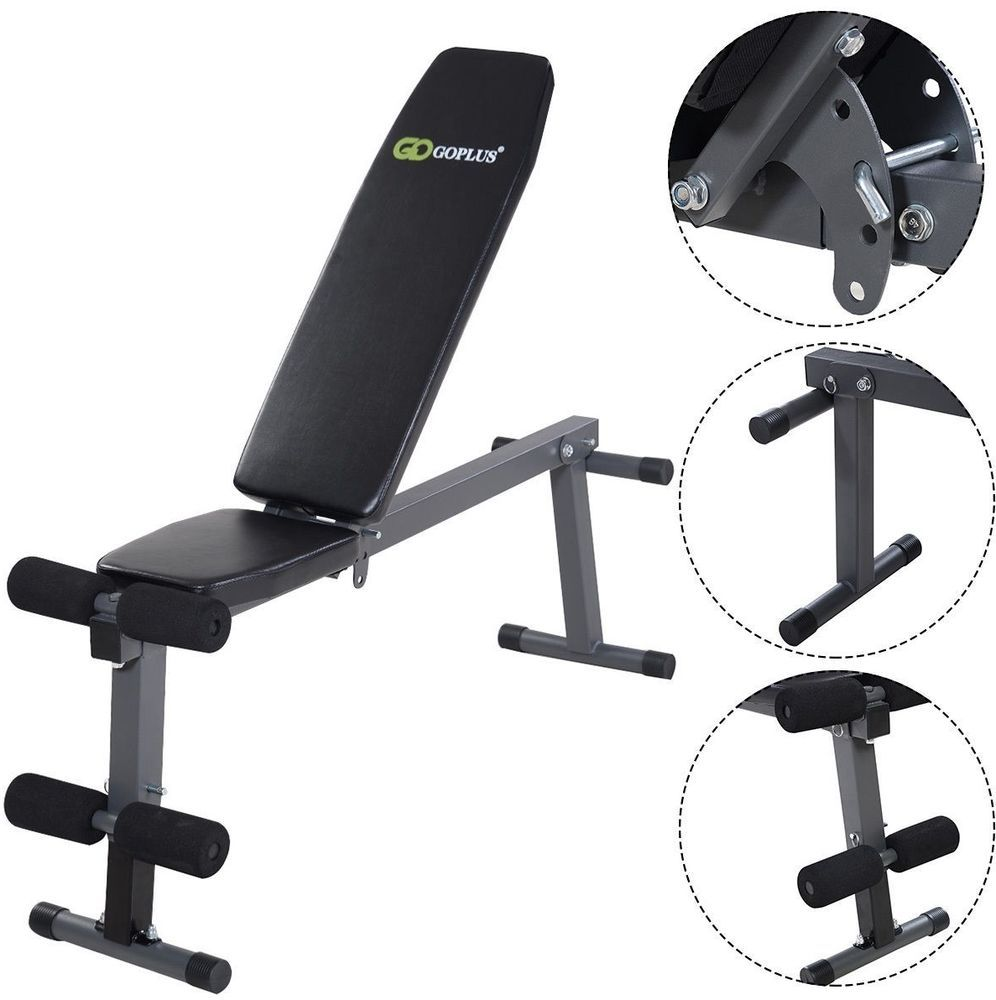 Incline Abs Bench Adjustable Folding Sit Up Ab Flat Fly Weight Press Gym Weight Benches Exercise Benches Gym